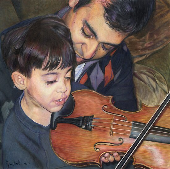 El Violinista by Joseph Johnson