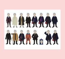 The Doctor's Wardrobe - Twelve Kids Clothes