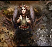 Mabon : Autumn Equinox by Angie Latham