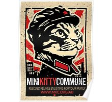 "MKC ""Big Fat Charity Cat Picture"" Poster"
