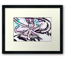 Sylveon   Moonblast Framed Print