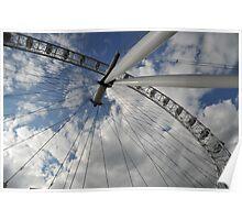 The London Eye Poster