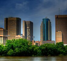 Winnipeg Skyline by Larry Trupp