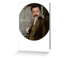 Ron Greeting Card