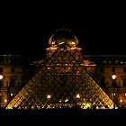 Louvre by Night by Honor Kyne