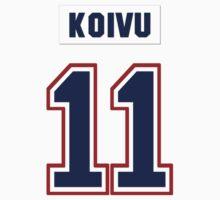 Saku Koivu #11 - white jersey by ianscott76