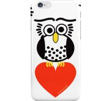 Say it with Owls iPhone Case/Skin