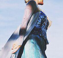 Queen Elsa From Disney's Frozen  by whitneymicaela