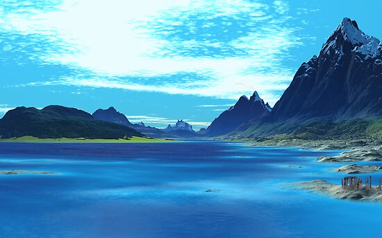 Legend of the Blue Loch by AlienVisitor