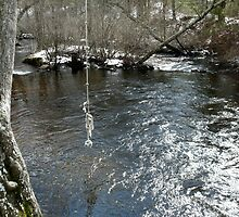 The Cold Beaver River Swimming Hole in Winter *featured by Jack McCabe