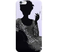 Femme Fatale c1960 I'll Take Mine Shaken not Stirred iPhone Case/Skin
