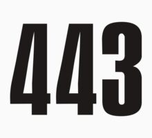 443 Baltimore | Phone Area Code Shirts Stickers by FreshThreadShop
