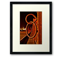 """Rings and Things"" Framed Print"