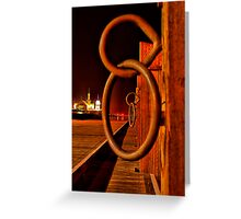 """Rings and Things"" Greeting Card"