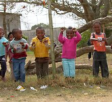 Xhosa children at school by LisaRoberts