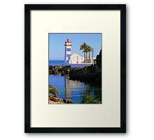 Cascais Lighthouse Framed Print