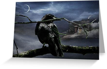 """Quoth The Raven, """"Nevermore"""" by SummerJade"""
