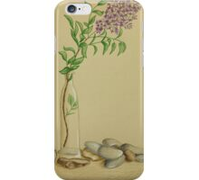 Japanese still life iPhone Case/Skin