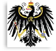 Prussian Eagle Canvas Print