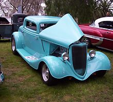 1934 Ford V8 3 Window Coupe by elsha
