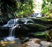 Leura Cascades Blue Mountains NSW Australia by MiImages