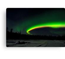 Arc of the Aurora Canvas Print