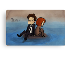 quagmire (x-files) Canvas Print