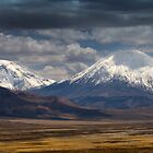 Twin Volcanoes by Krys Bailey