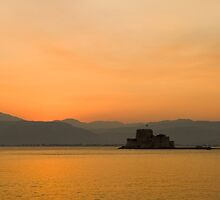 Minutes after sunset by Vagelis Georgariou