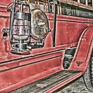 Vintage Fire Engine by Patricia Montgomery