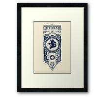Dothraki Framed Print
