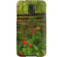 Dreamy Forest With Tulips - Impressions Of Spring Samsung Galaxy Case/Skin