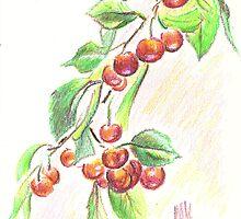 June Cherries by KipDeVore