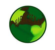 camo style hiroi sekai logo by Christian Randolph