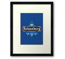 Heisenberg Blue Sky Crystal Framed Print