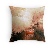 Soft Impressionism Throw Pillow