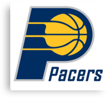 pacers Canvas Print