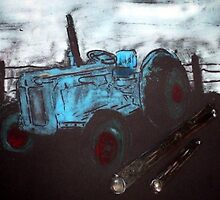 FORDSON TRACTOR by ANNETTE HAGGER