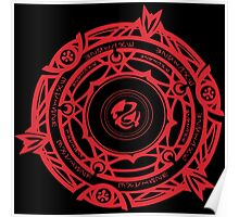 Gremory Clan Magic Circle Poster