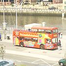 Tour Bus by GEORGE SANDERSON