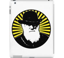 Charles Darwin starburst iPad Case/Skin