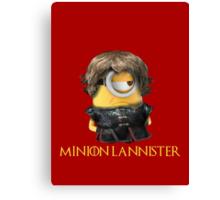 Minion Lannister Canvas Print
