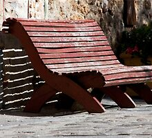 Bench Shadow by phil decocco
