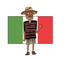 Mexican Cartoon by Fangs