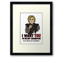 Uncle Tyrion Framed Print