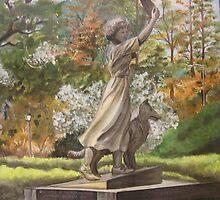 """The Waving Girl"" by Sandy Sparks"