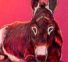 """""""Mabel The Burro""""  by Susan Bergstrom"""