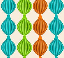 Mid-Century Inspired Ovals by gailg1957