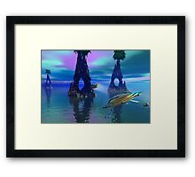 Water Arch Framed Print