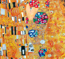 Gustav Klimt - The kiss  Sticker